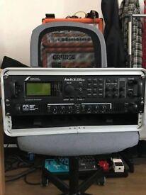 Axe FX II + Palmer Macht 402 Poweramp (In flightcase)