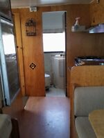 24 FOOT CHEVY MOTORHOME IN NICE SHAPE - SELL OR TRADE