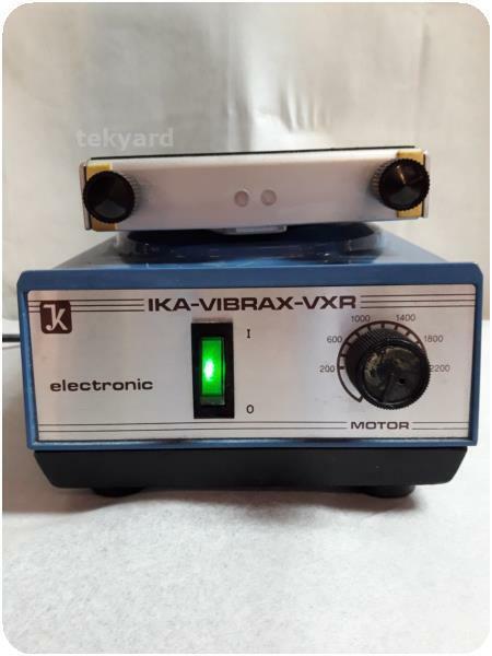 JK IKA-VIBRAX-VXR  VIBRATORY SHAKER / STIRRER MIXER ! (238185)
