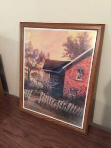Beautiful picture frame painting
