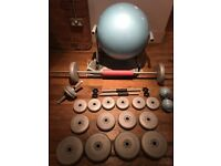 Great Condition- Workout Equipment + Weights