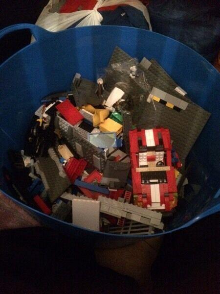 Boxes full of Lego!