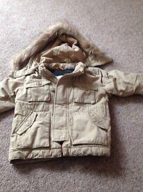 Boys Gap coat Age 12-18 months