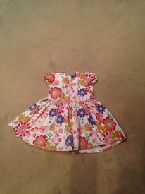 Girls mamas and papas dress age 18-24 months