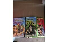 Brand New Shrek DVD's
