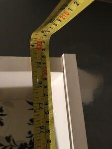 White adjustable shelving unit Kitchener / Waterloo Kitchener Area image 2