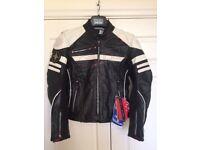 Brand New Women's LINDSTRANDS Leather Jacket For Sale!