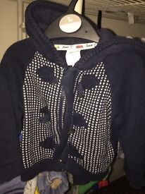 Baby boy jumpers and jackets