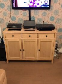 Matching sideboard, coffee table and side table