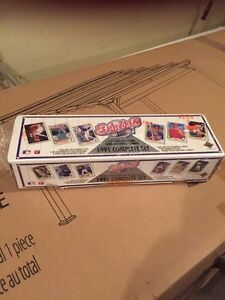 1991 Complete set of upper deck baseball cards
