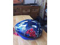 Spider-Man bike helmet