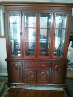 China cabinet. Excellent condition
