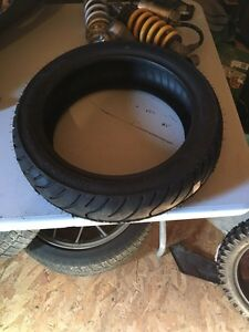 Rear Kenda scooter tire 110/70/12