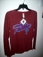 NEW: WNS PHILADELPHIA PHILLIES MLB BASEBALL LONGSLEEVES TRIBLEND City of Montréal Greater Montréal Preview