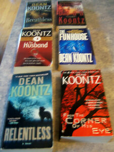 PAPERBACK  DEAN KOONTZ BOOKS Kingston Kingston Area image 2