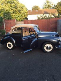 1958 genuine Morris minor convertible