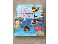 Usborne busy helicopter book