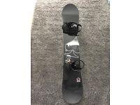 FTWO Snowboard + SP Bindings
