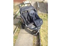 Out n About Nipper Double 360 V2 (Black)