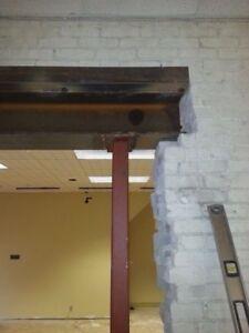 Constuction Welding, I-Beam, Posts and Colomn Welding/Welder