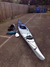 Dagger Apostle sea kayak Melbourne CBD Melbourne City Preview