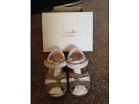 Softly Mae sandals Clarks first shoes