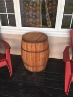 Barrel for rent