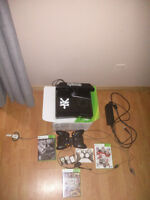 xbox 360 250g Slim with Kinect, games and accessories !