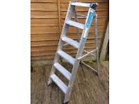 zarges class 1 industrial step ladders Very good quality ladders £25