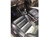 Wanted Audi TT black leather seats