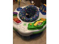 Leapfrog Learn and Groove baby Activity centre sit in toy