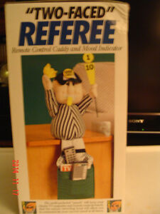 "FOOTBALL ""BAD/GOOD CALL REFEREE REMOTE CADDY"" FOR THE BIG GAME Windsor Region Ontario image 2"