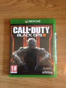 Mint condition Call of duty black ops 3 Xbox one Game