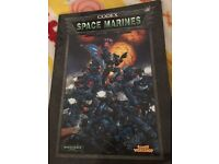 Space marines codex book! Warhammer 40,000! Games work shop!! Offical