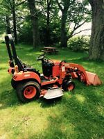 2009 KUBOTA BX1860 4WD COMPACT TRACTOR WITH LOADER