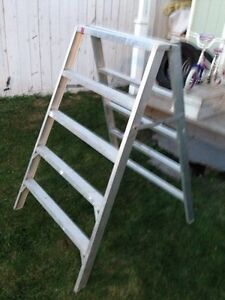 Scaffold ladder REDUCED Now $125.00 Strathcona County Edmonton Area image 1