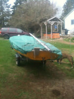 17 Foot Sailboat