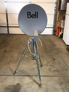 SATELLITE DISH AND STAND FOR SALE
