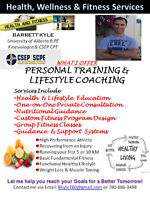 Lifestyle Coach & Personal Trainer - LETS START TODAY!
