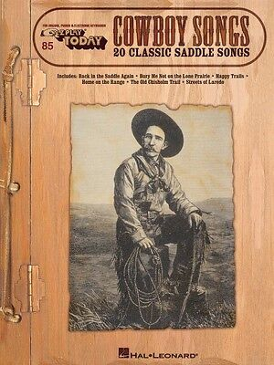 Cowboy Songs Sheet Music E-Z Play Today Book NEW 000100221