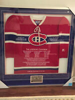 Extremly rare Legendary Canadiens Jersey first $2900 takes