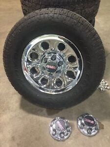 2012 GMC Sierra Stock Rims/Tires/Lugs/Caps Awesome Shape