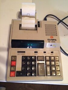 Olympia adding machine  industrial/commercial printing
