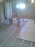 Flooring                          RB construction (see picture)