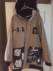Men's technine winter jacket
