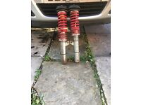 Astra H adjustable coilovers