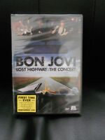 Bon Jovi Lost Highway:The Concert DVD brand new, factory sealed