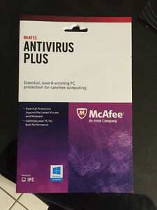 McAfee Virus Scan Software $15.00 OBO Edmonton Edmonton Area image 1