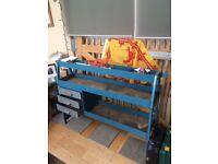 Dexion tool bench