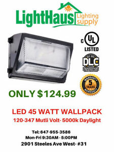 LED Wall Pack - light bulb commercial use